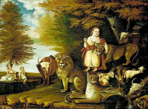 peaceable kingdom hicks
