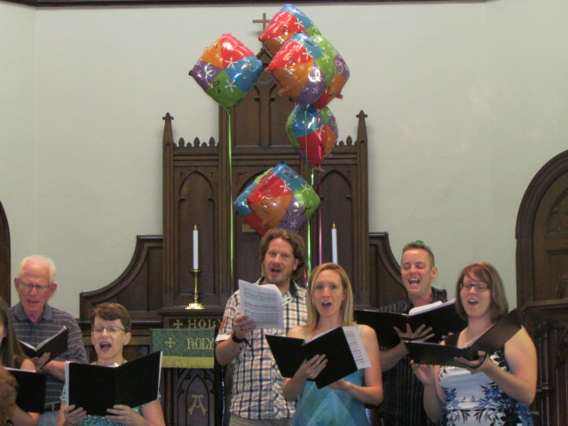 2016_08_28 Choir singing