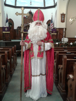 St. Nick in the Sanctuary