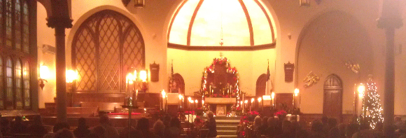 2014_12_26 Sanctuary during church tours